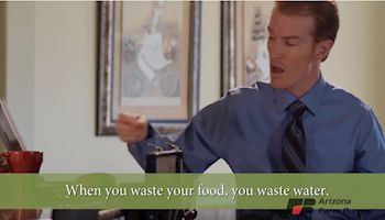 Video: When You Waste Food, You Waste Water