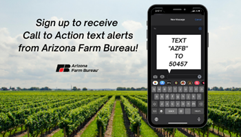 Arizona Farm Bureau's 2021 Legislative Priorities